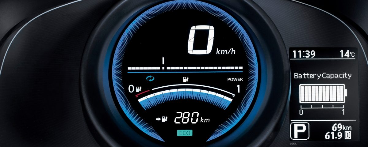 Nye Nissan e-NV200 – dashbord