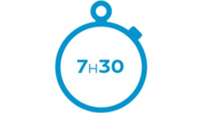 wallbox 7h30 charging time icon