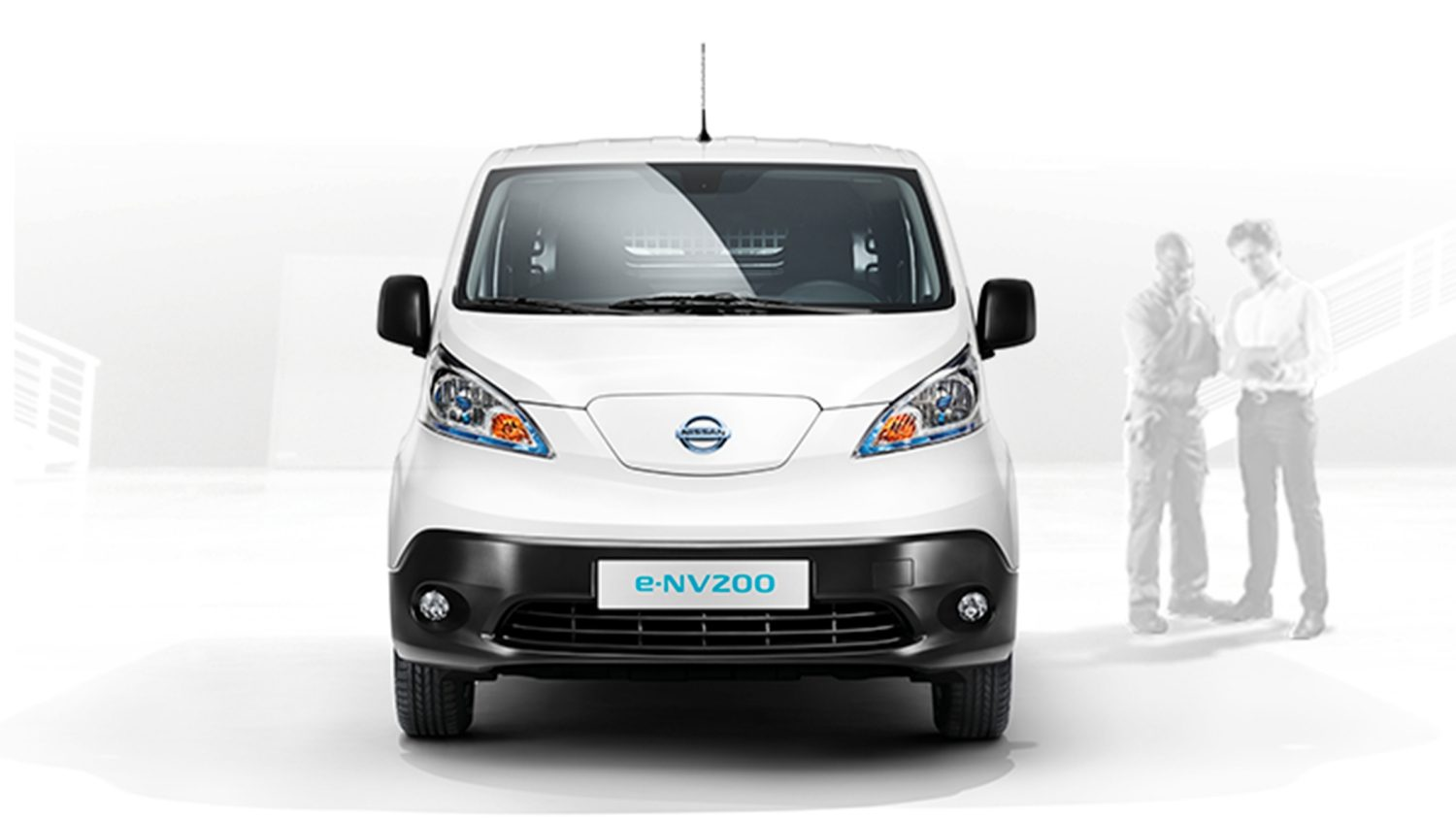 New Nissan e-NV200 front view