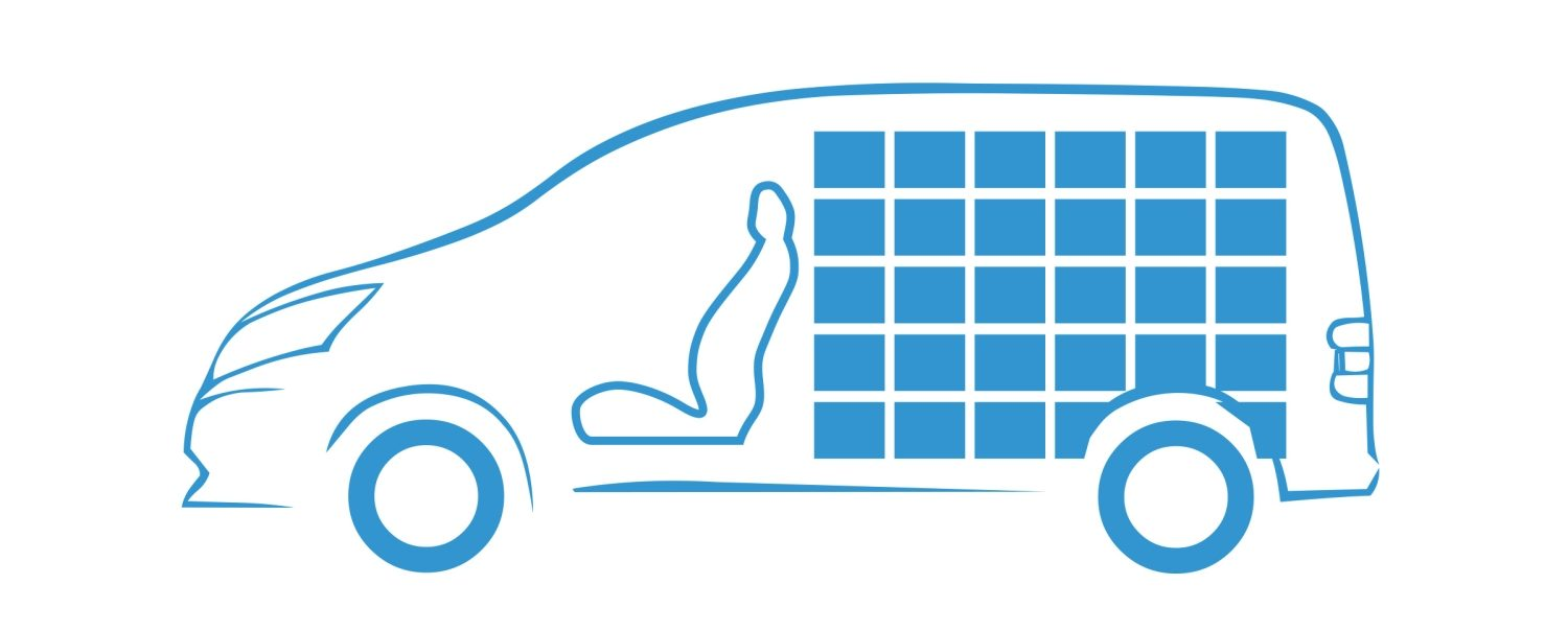 New Nissan e-NV200 full cargo space icon