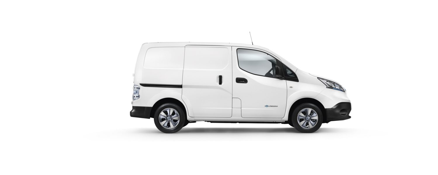 the e-NV200 Van