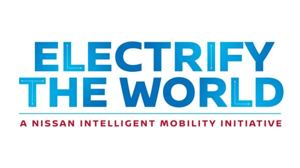 Nissan Electrify the Worldi logo