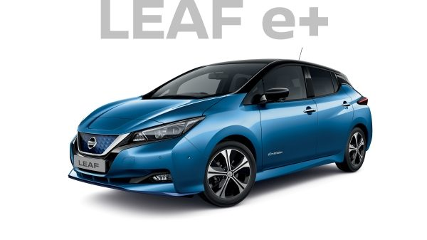 Nissan LEAF e+ blue