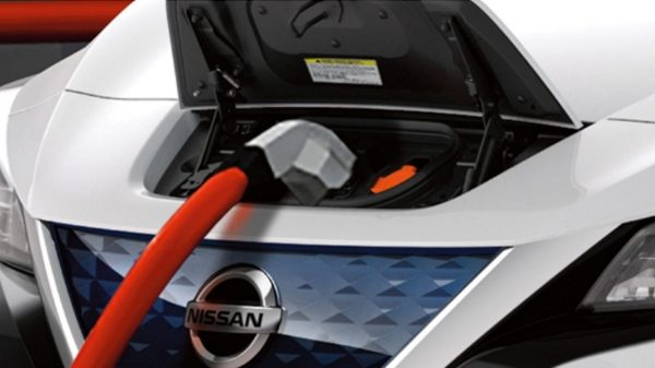 Nissan LEAF kort over ladestationer