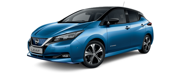 Nissan LEAF e+ Tekna Blue-Black