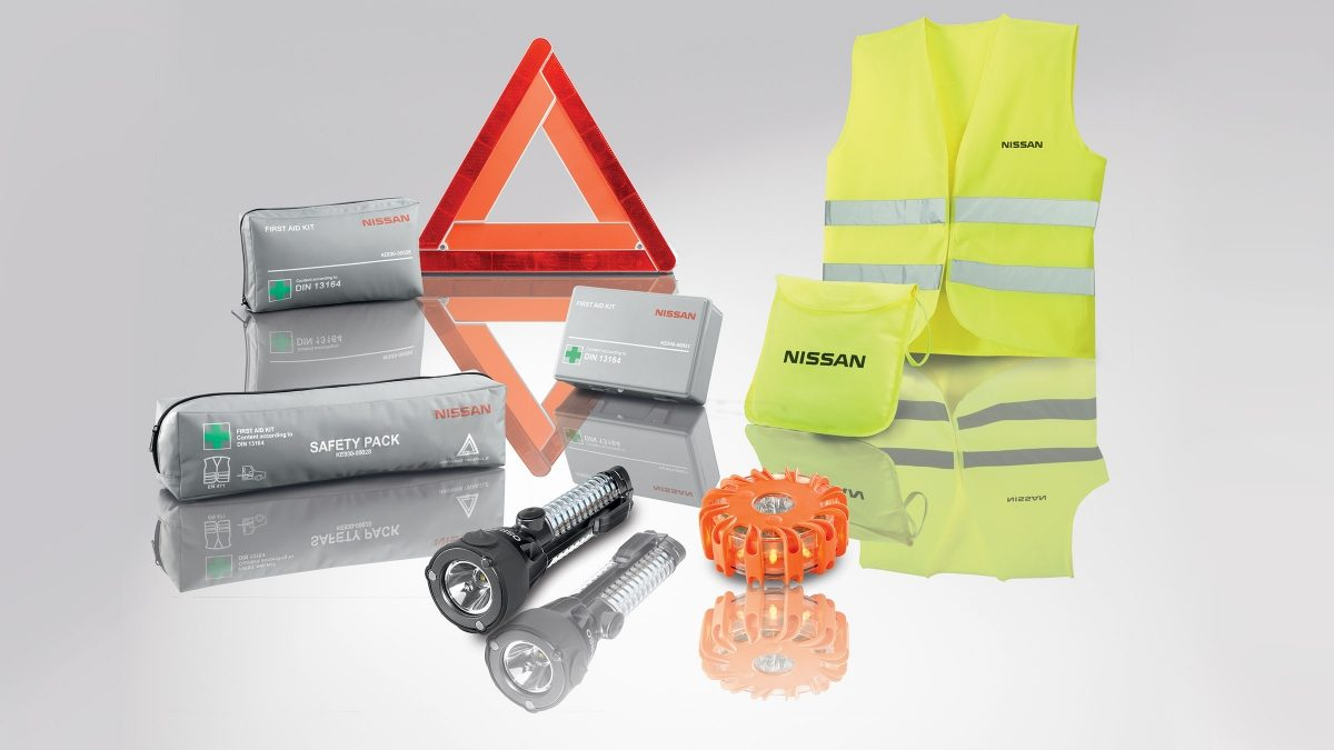 Nissan JUKE safety accessories