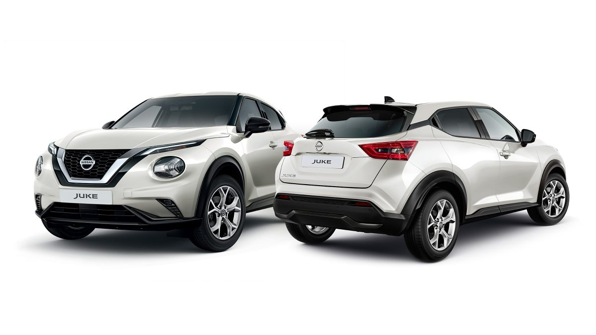 Nissan JUKE Urban-pack i sort