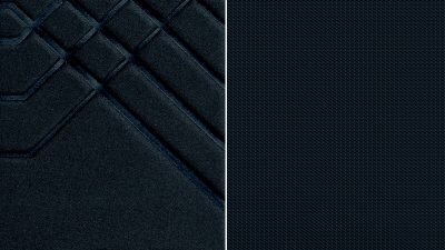 Nissan JUKE black embossed fabric with black fabric