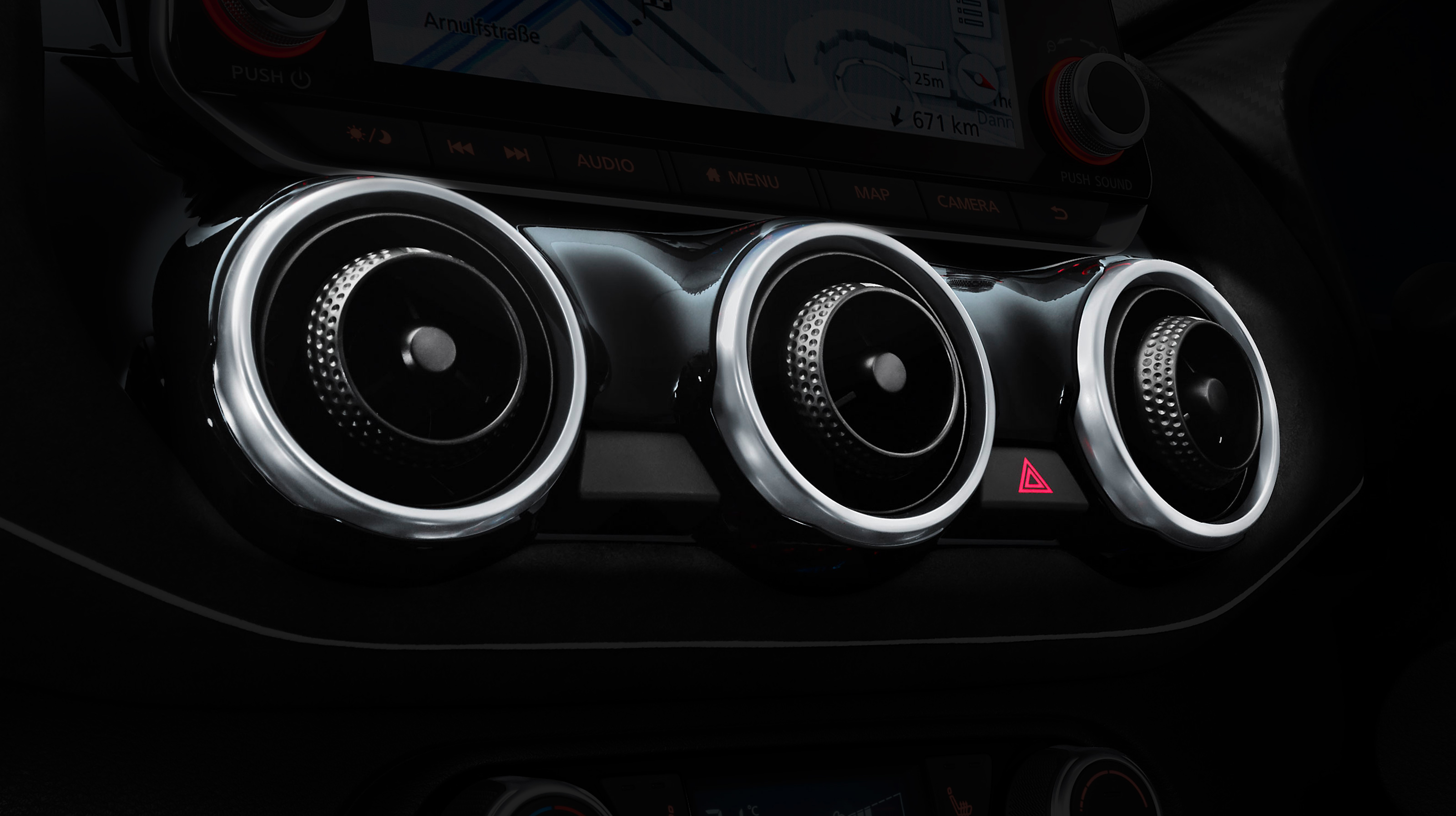 Nissan JUKE stylish air vent