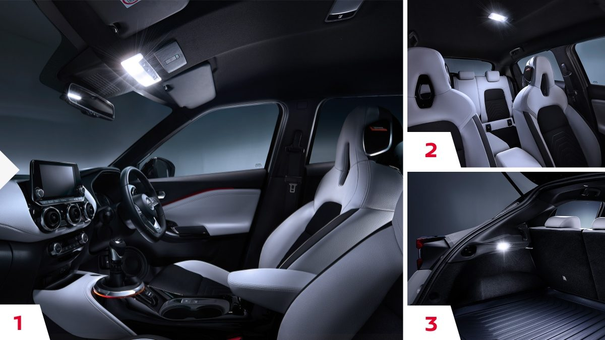 Juke light interior kit.