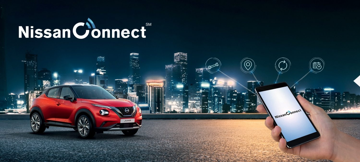 New Nissan JUKE NissanConnect Services