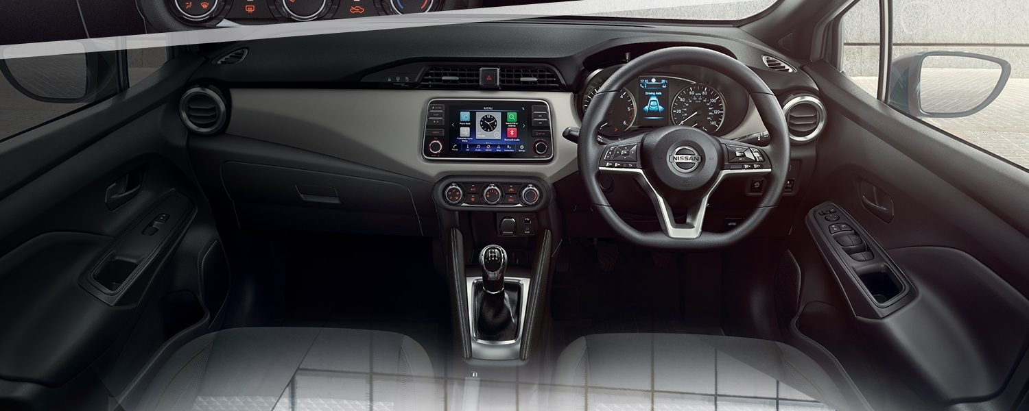 Nissan MICRA N-TEC interior view
