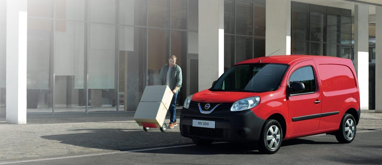 Nouveau Nissan NV250 | petit fourgon et véhicule utilitaire