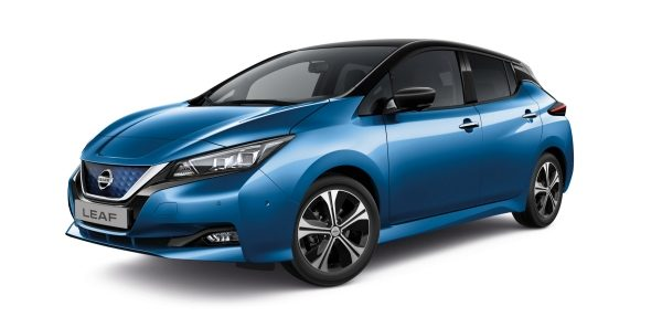 NISSAN LEAF e+ in Blue