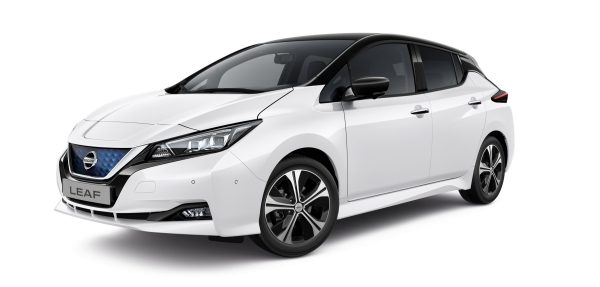 NISSAN LEAF in White
