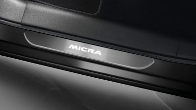 Nissan Micra  door entry guard