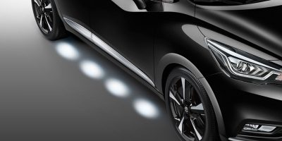 Nissan Micra safety ground lighting