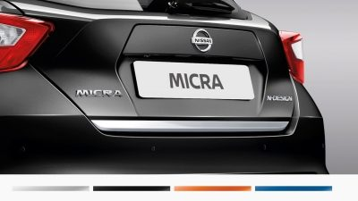 Nissan Micra trunk lower Finisher