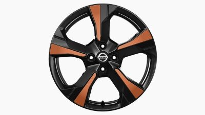 Nissan Micra xenowheel orange