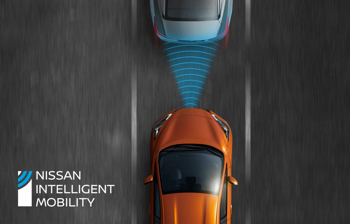 Nissan MICRA Intelligent Emergency Braking