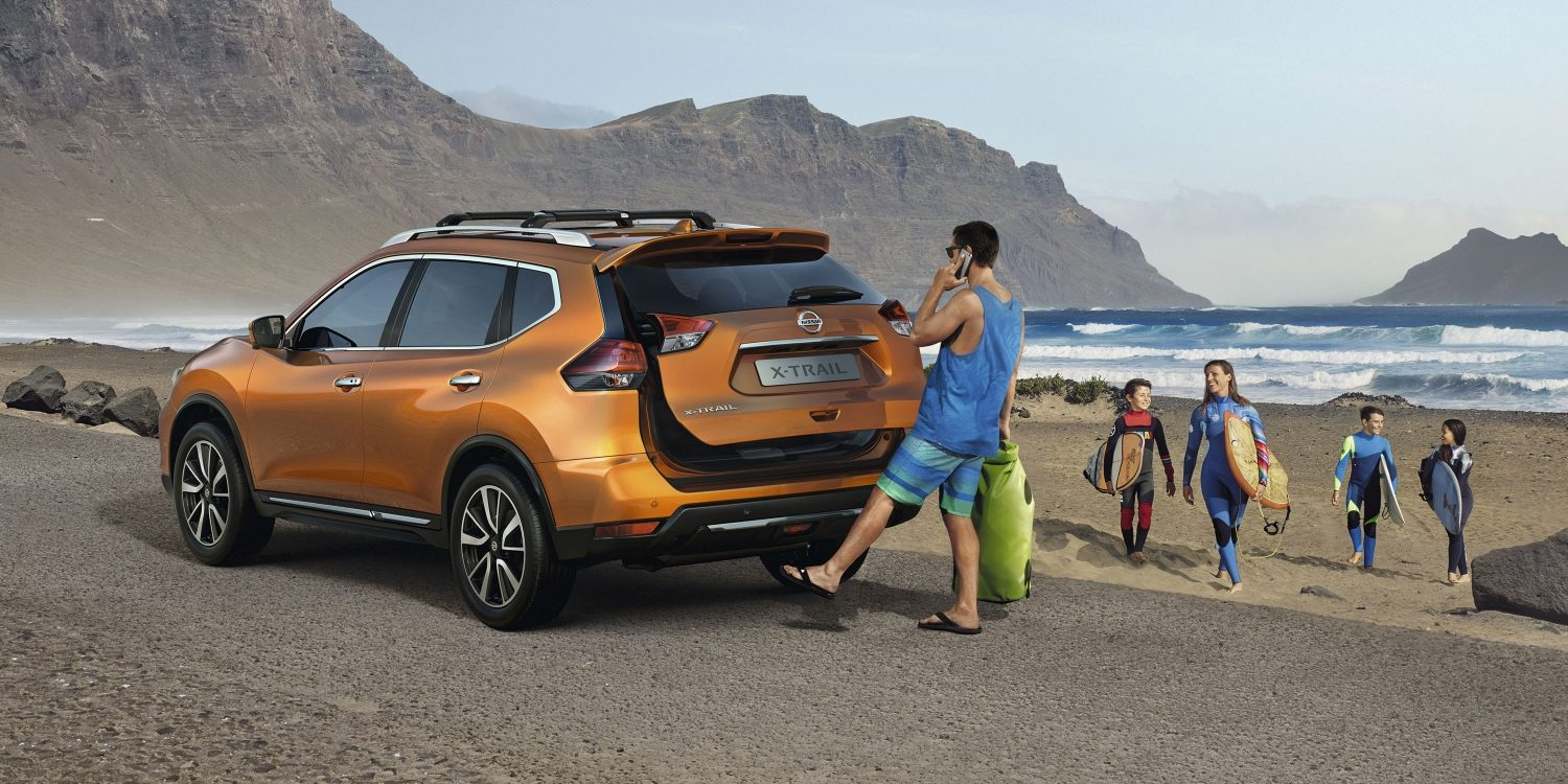 Nissan X-TRAIL – surfaritega