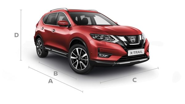 Nissan X-Trail 3/4 front