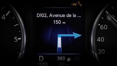 Nissan X-Trail TFT-Display – präzise Navigation
