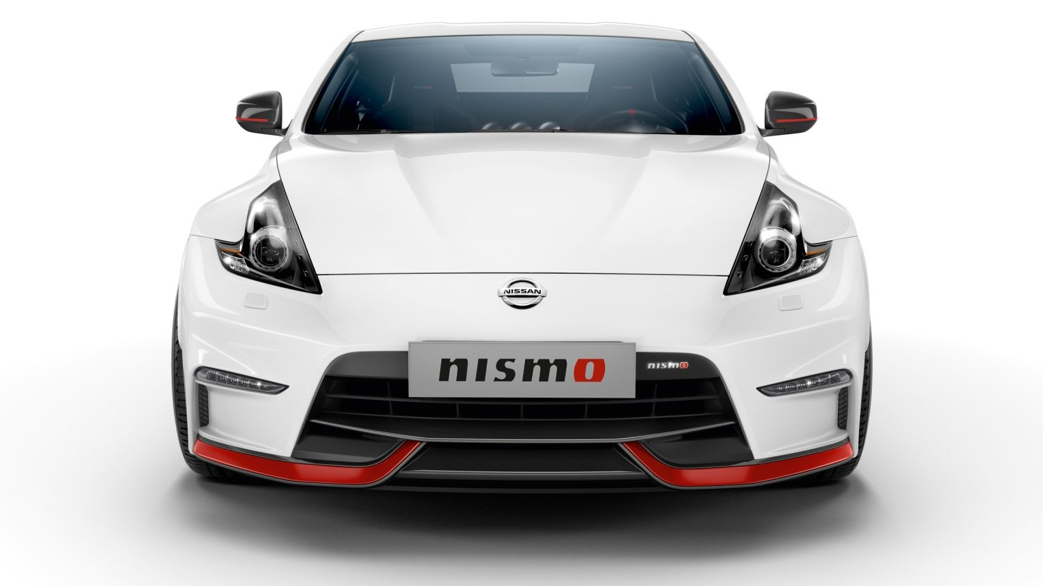 NISSAN 370Z COUPÉ Brilliant White – Frontansicht