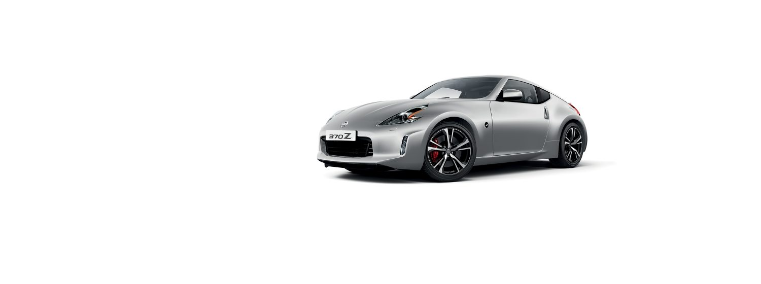 Nissan 370z coupe - Brilliant Silver