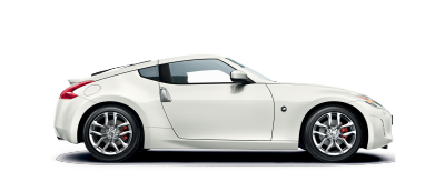 Nissan 370Z Coupe - Sideview