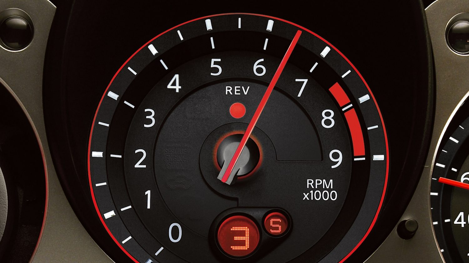 Nissan 370Z | Coupe | Synchro rev control display