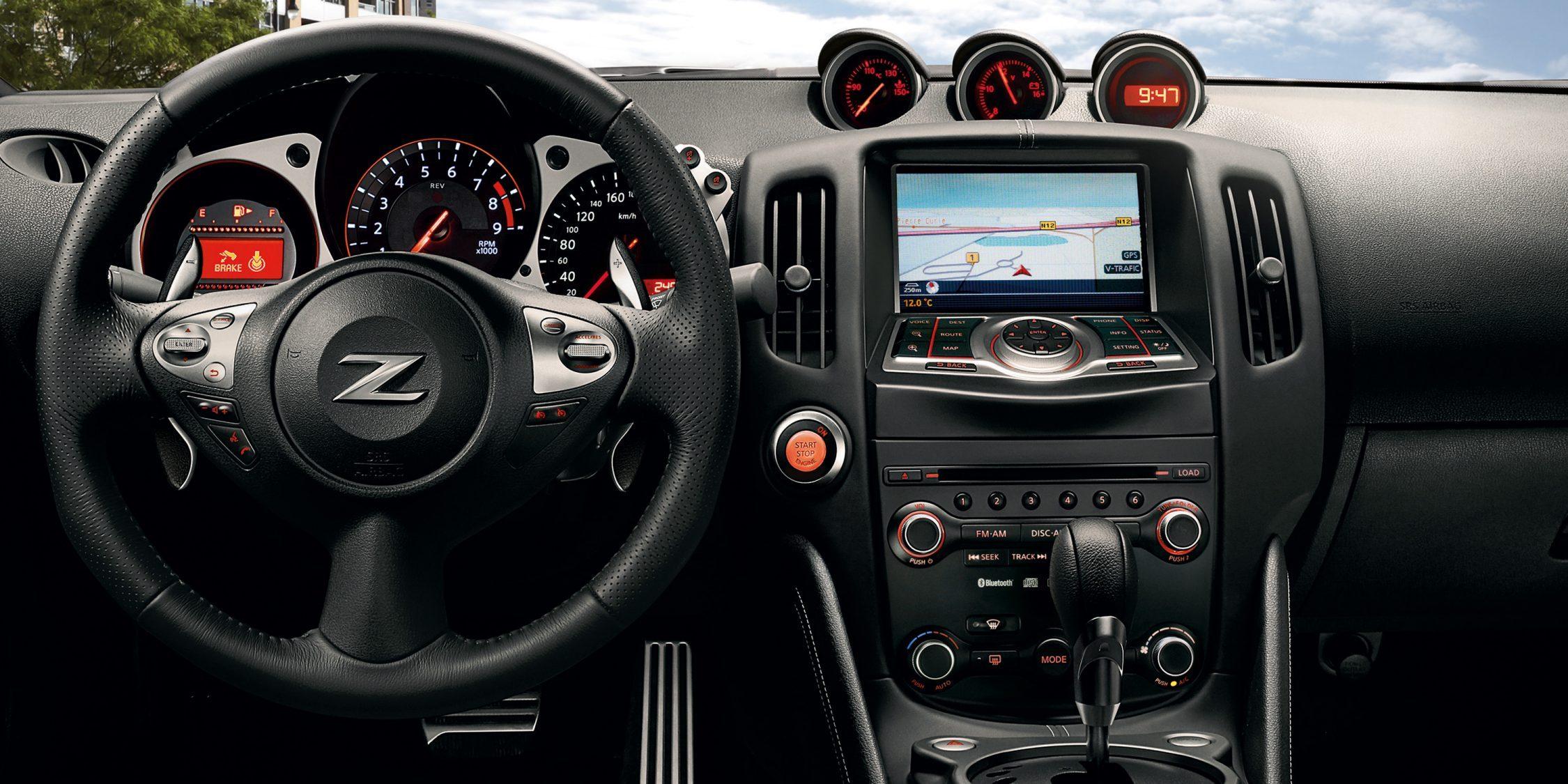 ausstattung - nissan 370z roadster