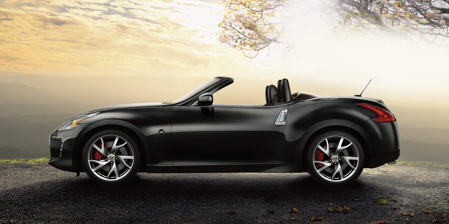 Nissan 370Z ROADSTER Diamond Black - Vista de perfil