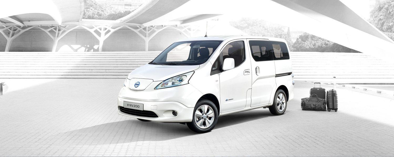 Bardzo dobra Nissan e-NV200 EVALIA - 7-osobowy samochód elektryczny | Nissan VZ74