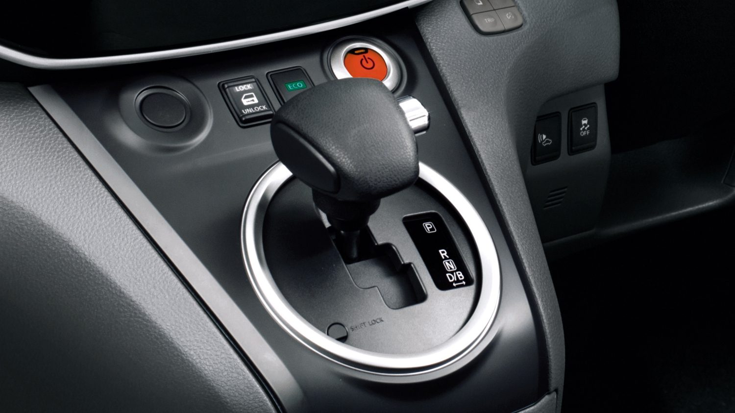 New Nissan e-NV200 COMBI design shift knob