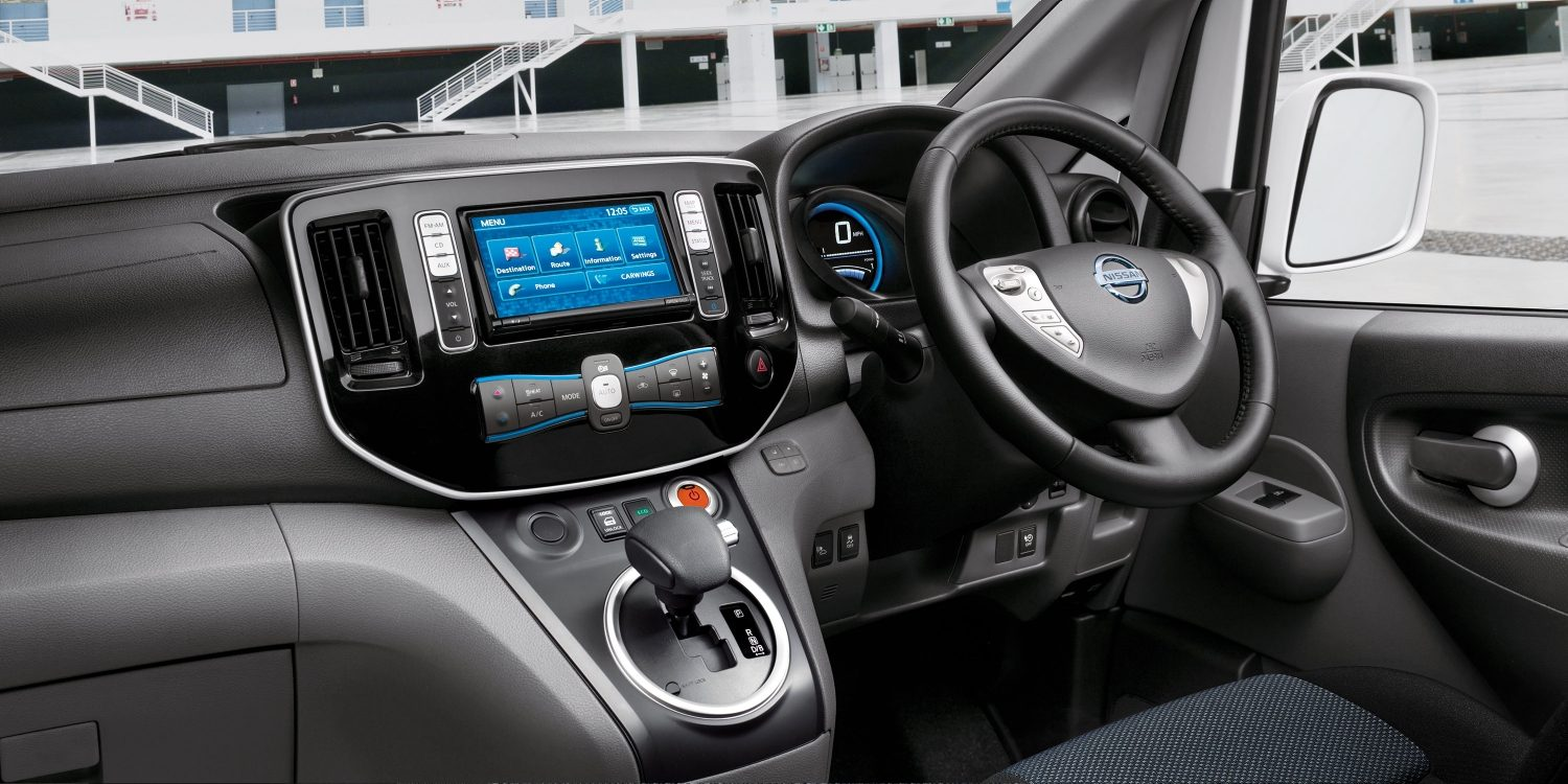 New Nissan e-NV200 EVALIA interior design preview image