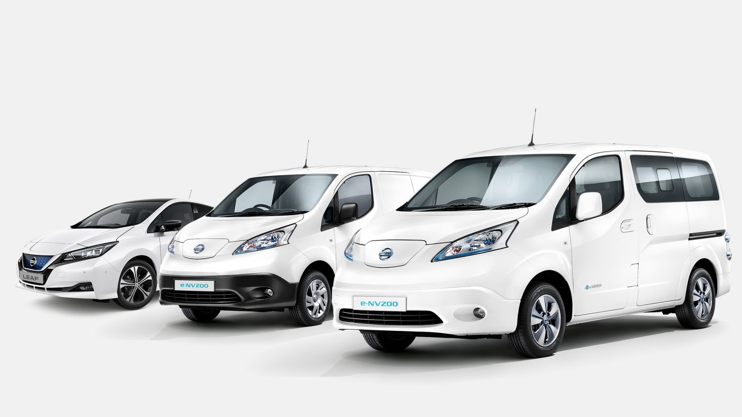 New Nissan e-NV200 EVALIA electric vehicles range