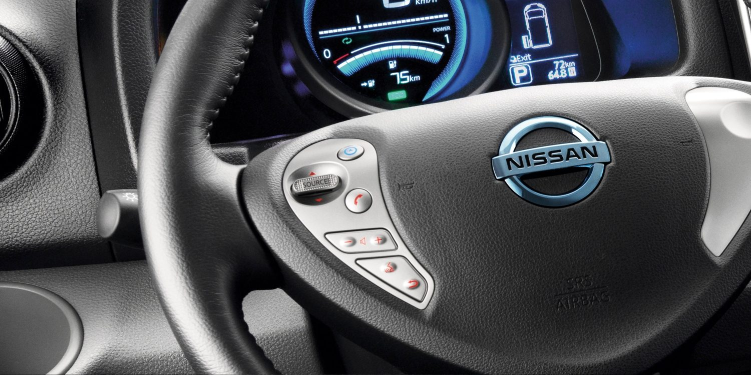 New Nissan e-NV200 VAN steering wheel