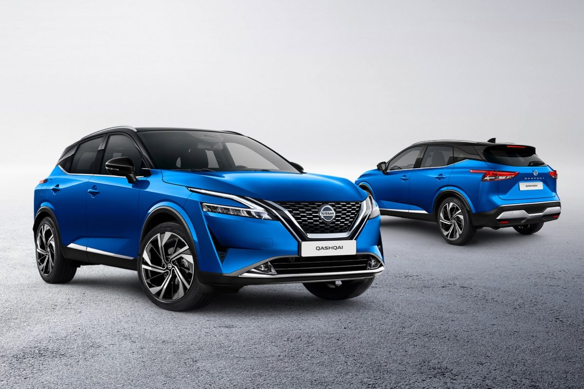Nissan New QQ front and rear packshots