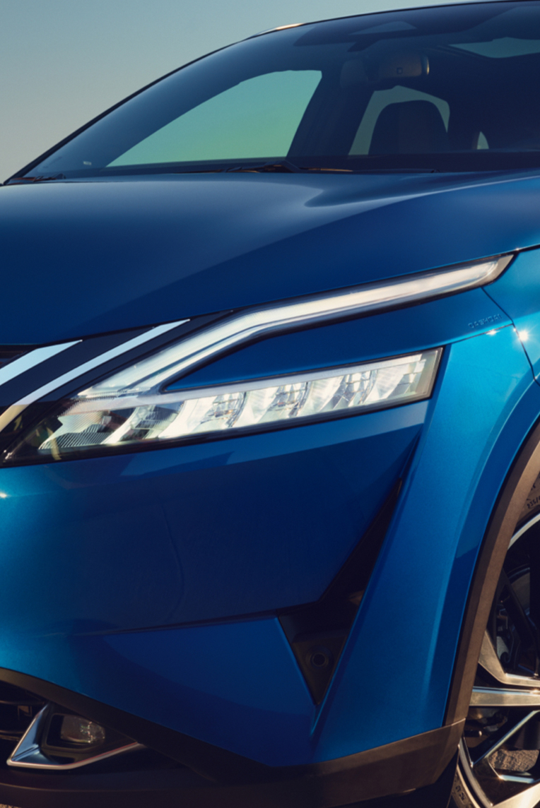 Nissan Qashqai LED gaismu lukturis