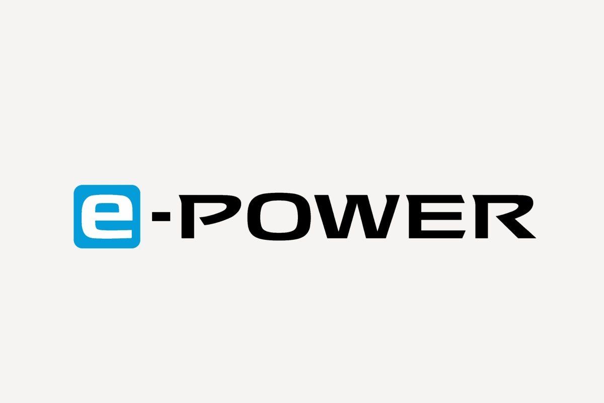Nissan QQ Billede af logoet for e-power