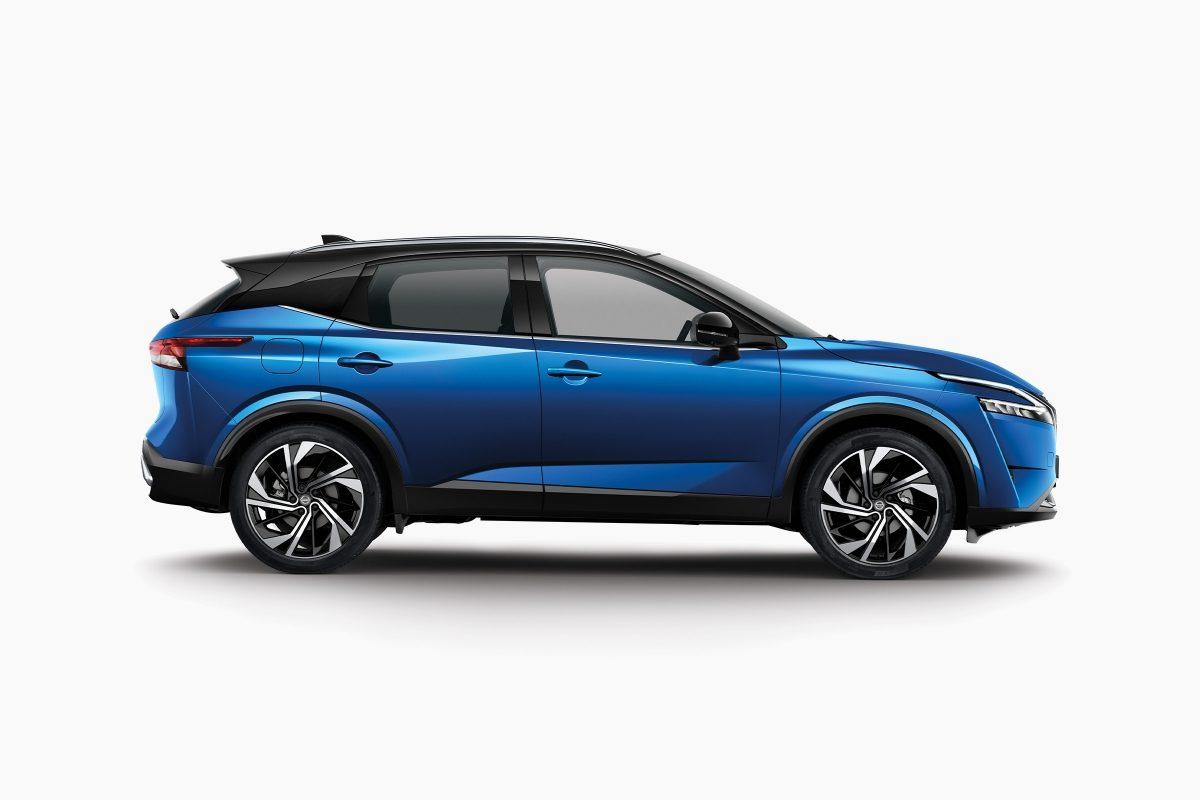 Nissan QQ Packshot Tekna+ profile
