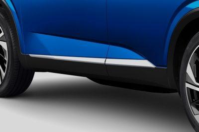 Nissan nieuwe QQ zijbumper