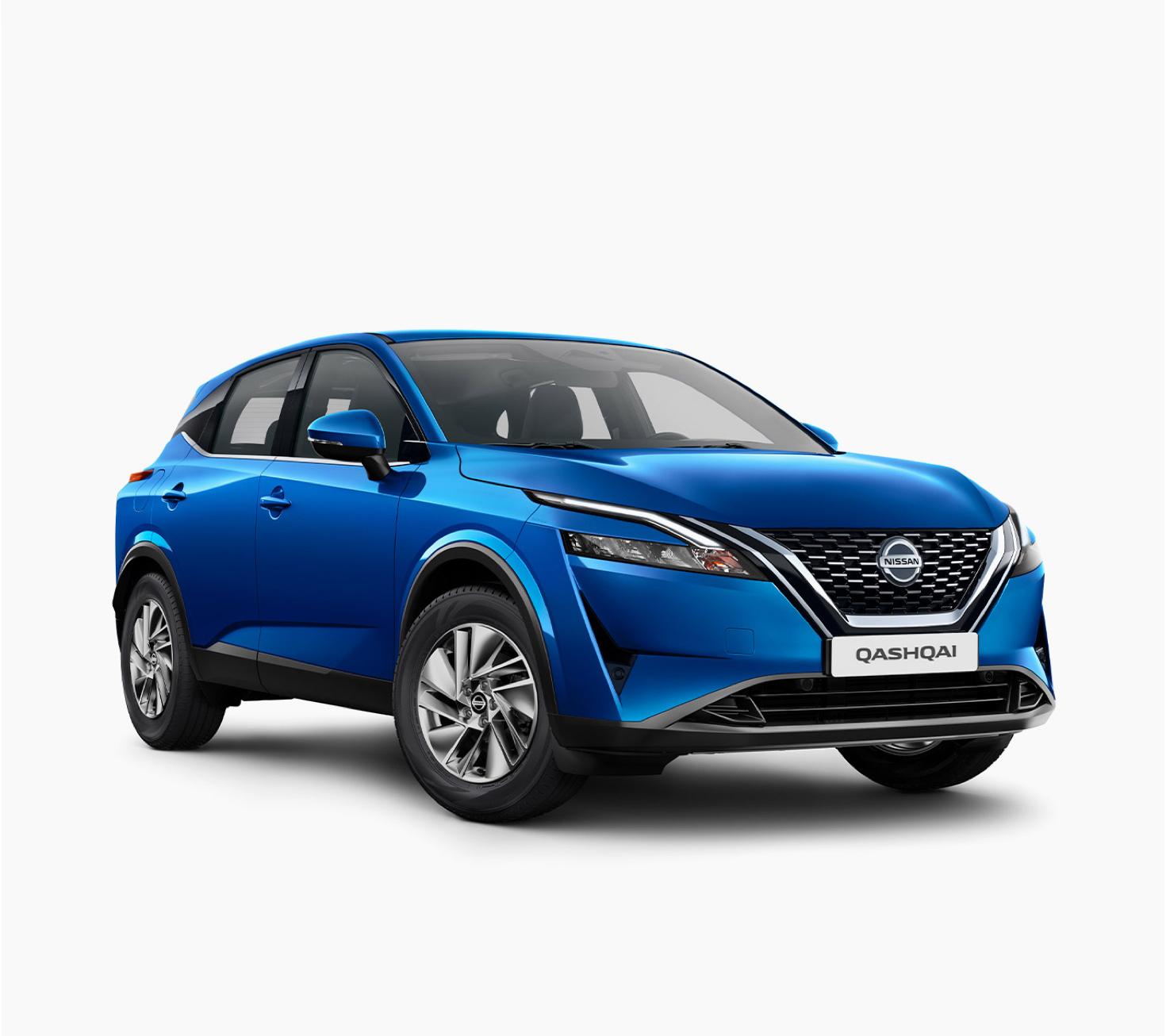 Nissan new Qashqai Acenta 3/4 front