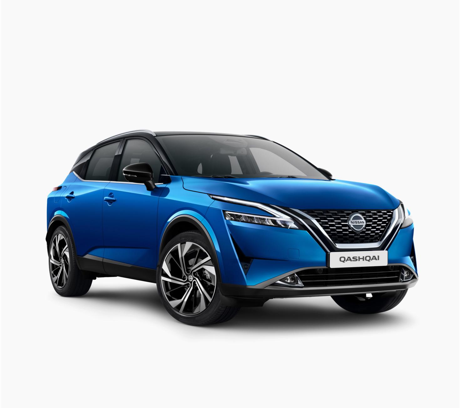 Nissan new Qashqai Tekna+ 3/4 front