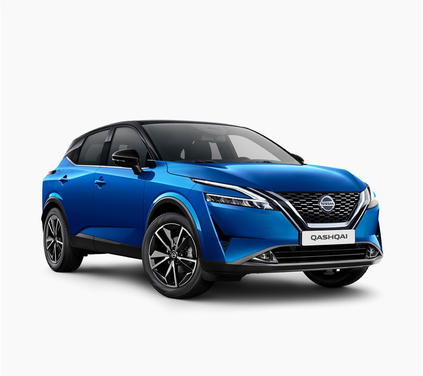 Nissan new Qashqai Tekna 3/4 front