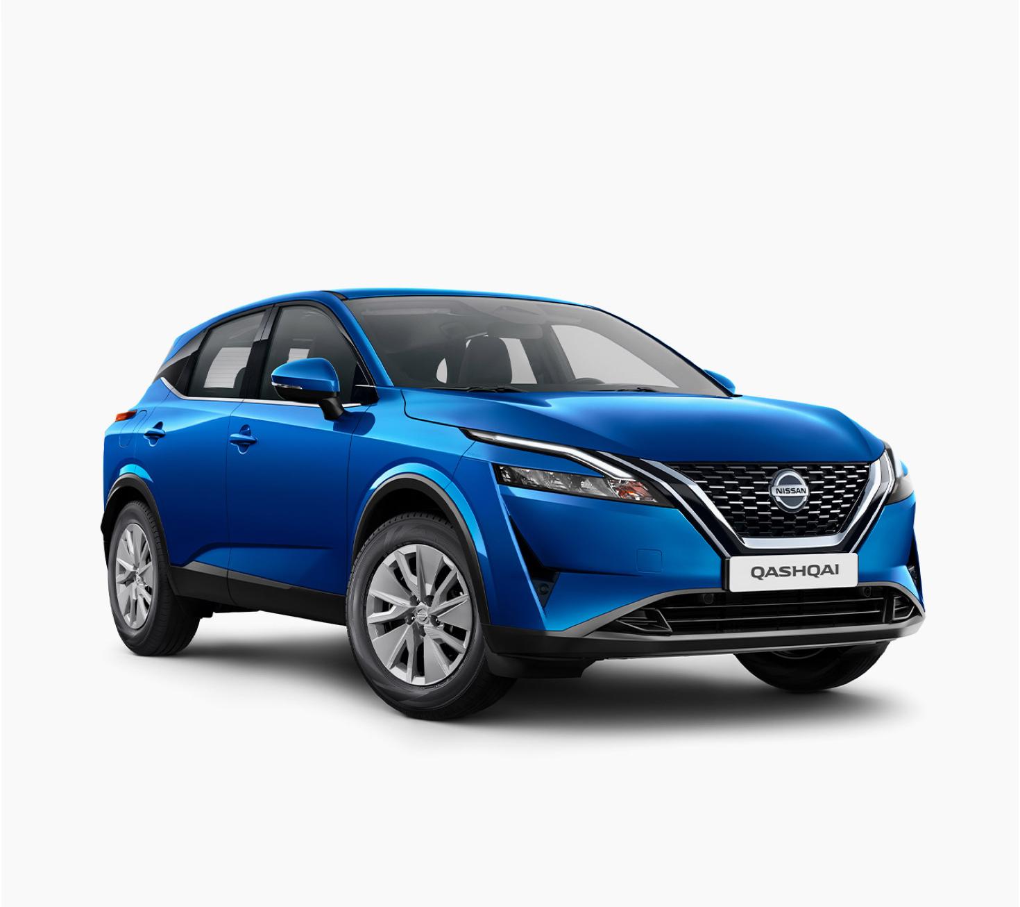 Nissan new Qashqai Visia 3/4 front