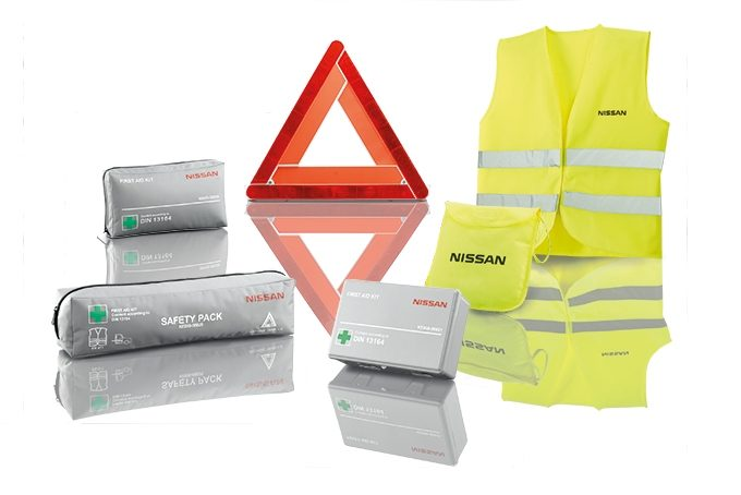 nissan emergency kit