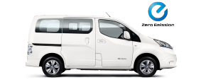 Nissan e-NV200 evalia - side view