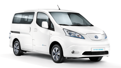 Nissan e-NV200 Evalia Connect Edition Flex 5 zitter - 3/4 front view